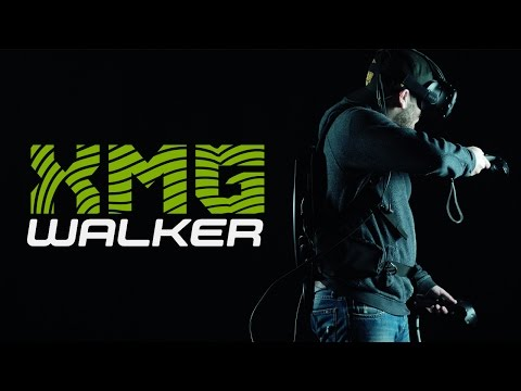 Ist das die Zukunft?   XMG Walker - VR Backpack PC