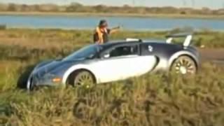 BUGATTI VEYRON IN LAKE !!!!! GALVESTON - TEXAS (11/11/2009) (EXCLUSIVE)