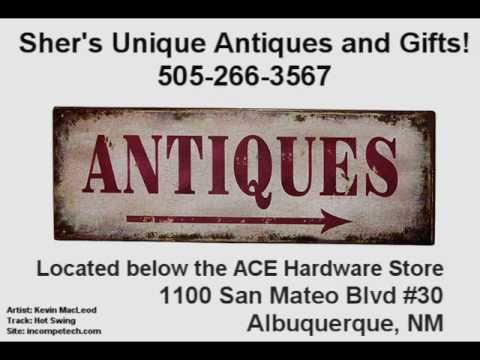 Sher's Unique Antiques and Gifts - Albuquerque, NM