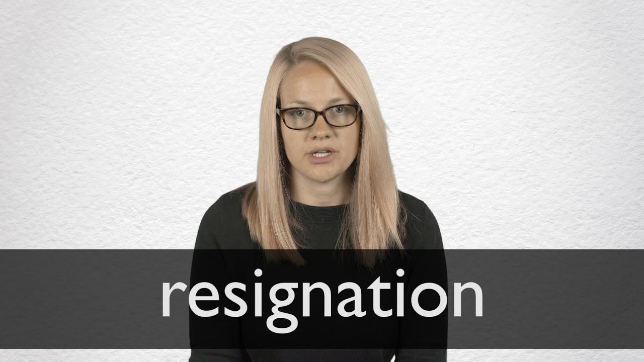 Letter Of Resignation Definition from i.ytimg.com