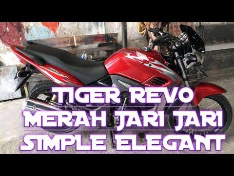 Modifikasi Tiger Revo Merah Tiger Revo Herex Tiger Revo Hits Tiger Revo Jari Jari