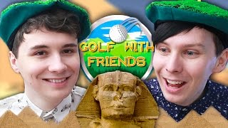 TWO SANDY BALLS - Dan and Phil Play: Golf With Friends #2
