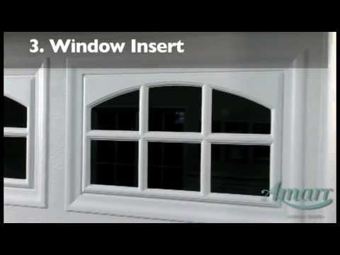 garage door window insertsAmarr Garage Door Windows  YouTube