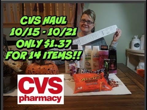 CVS HAUL 10/15 - 10/21 | COUPON GIVEAWAY!