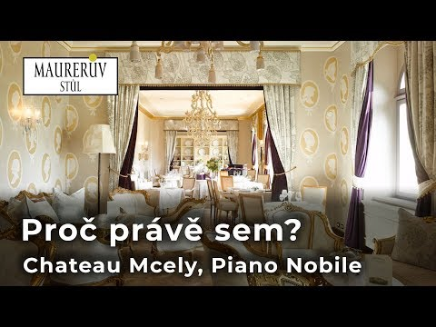 Chateau Mcely, Piano Nobile