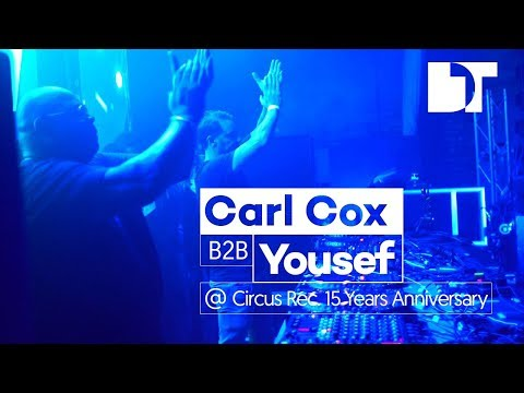 Carl Cox b2b Yousef at Camp and Furnace, Circus 15th Anniversary, Liverpool (UK)