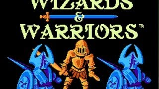 CGRundertow WIZARDS & WARRIORS for NES Video Game Review