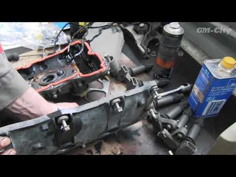 Замена цепей ГРМ на Chevrolet Captiva 3.2 - часть 4, финал