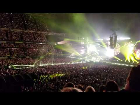 Coldplay at Soldier Field - Yellow