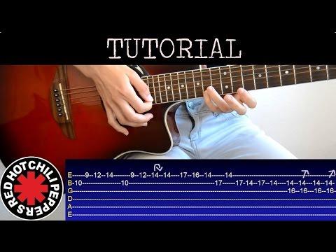 Cómo Tocar El Punteo De Californication Tutorial Guitarra 2ºparte