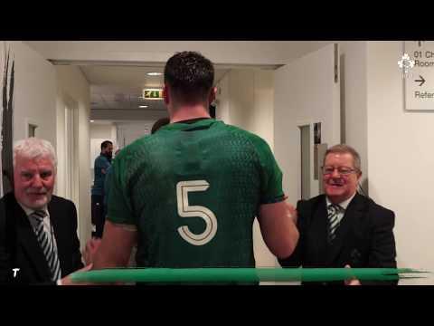 Irish Rugby TV: Ireland V New Zealand Tunnel Cam At Aviva Stadium