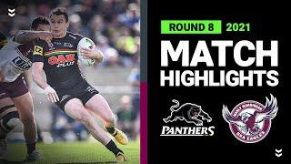Panthers v Sea Eagles Match Highlights   Round 8, 2021   Telstra Premiership   NRL