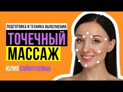Точечный омолаживающий массаж лица: ⚠️Техника и подготовка к точечному массажу лица. Юлия Сайфуллина