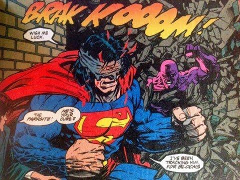 Superman Parasite >> Superman Vs Parasite Youtube