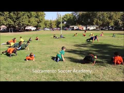 Sacramento Soccer Academy Practice