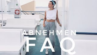 ABNEHMEN FAQ. MOTIVATION, KALORIEN ZÄHLEN, HEIßHUNGER, INTUITIV ESSEN, HÄUFIGE FRAGEN