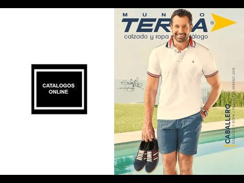 83cc597b catalogo calzado caballeros Mundo terra 2018 PV - YouTube