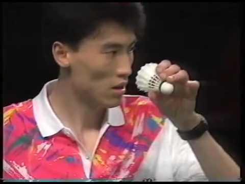 1992全英Final MS Zhao Jianhua趙劍華(中)vs Liu Jun劉軍(中)