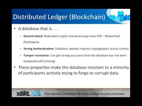 The Landscape for Blockchain Technologies