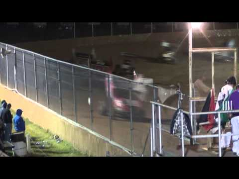 Trail-Way Speedway 358 Sprint Car Highlights 5-15-15