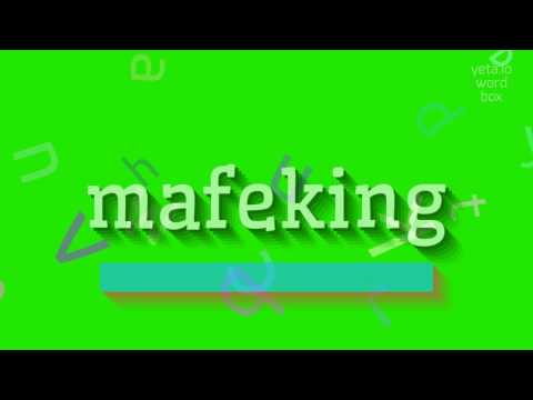 """How to say """"mafeking""""! (High Quality Voices)"""