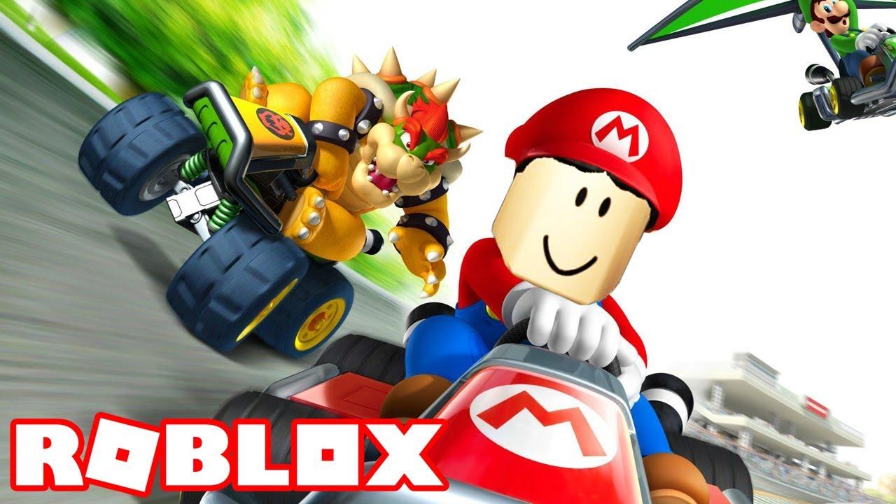 Mario Kart At Roblox Mario Kart Racing In Roblox Where Friends Become Enemies Kart Rage Beta Youtube