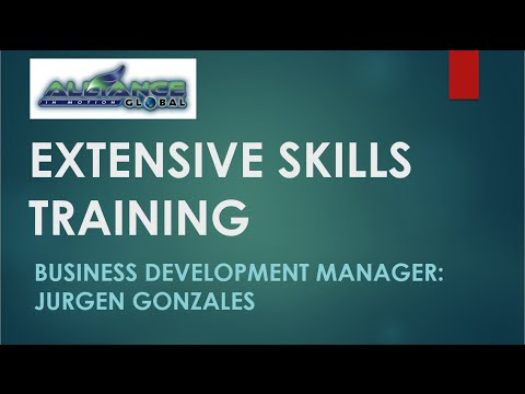 Extensive Skills Training by aim global training specialist Engineer Jurgen Gonzales