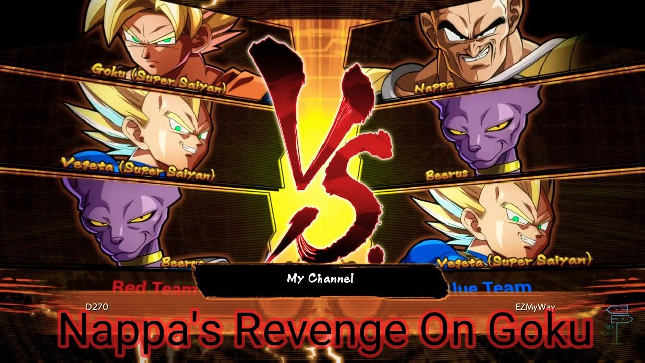 Amv Porn Youtube Anime Dragon Ball Super dragon ball z fighterz open beta- nappa's revenge on goku