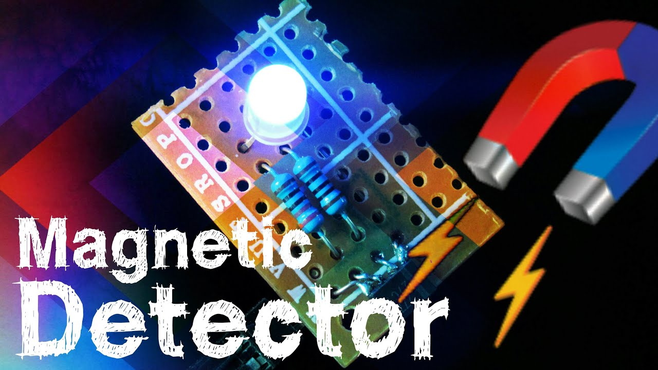 Magnetic Pole Field Detector Flux Meter Tool With Hall Effect Geomagnetic Circuit Sensor Youtube