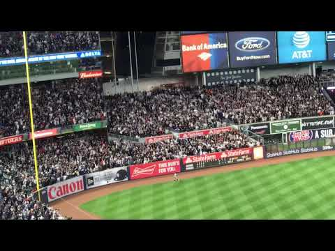 Aaron Judge three run homerun vs Astros Game 3 ALCS