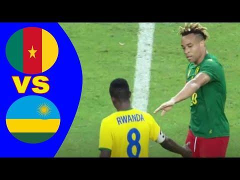 Cameroon vs Rwanda  Résumé de la rencontre Eliminatoires Coupe d'Afrique des Nations  Cameroun 2021