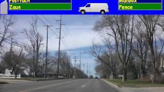 Lernen Sie Englisch-im Straßenverkehr unterwegs zu sprechen
