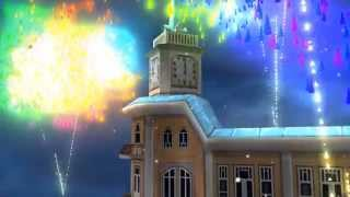 клип-Новый год в Абхазии. поет Астамур Квициния