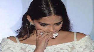 Sonam Kapoor CRIES at Neerja TRAILER LAUNCH  UNCUT VIDEO