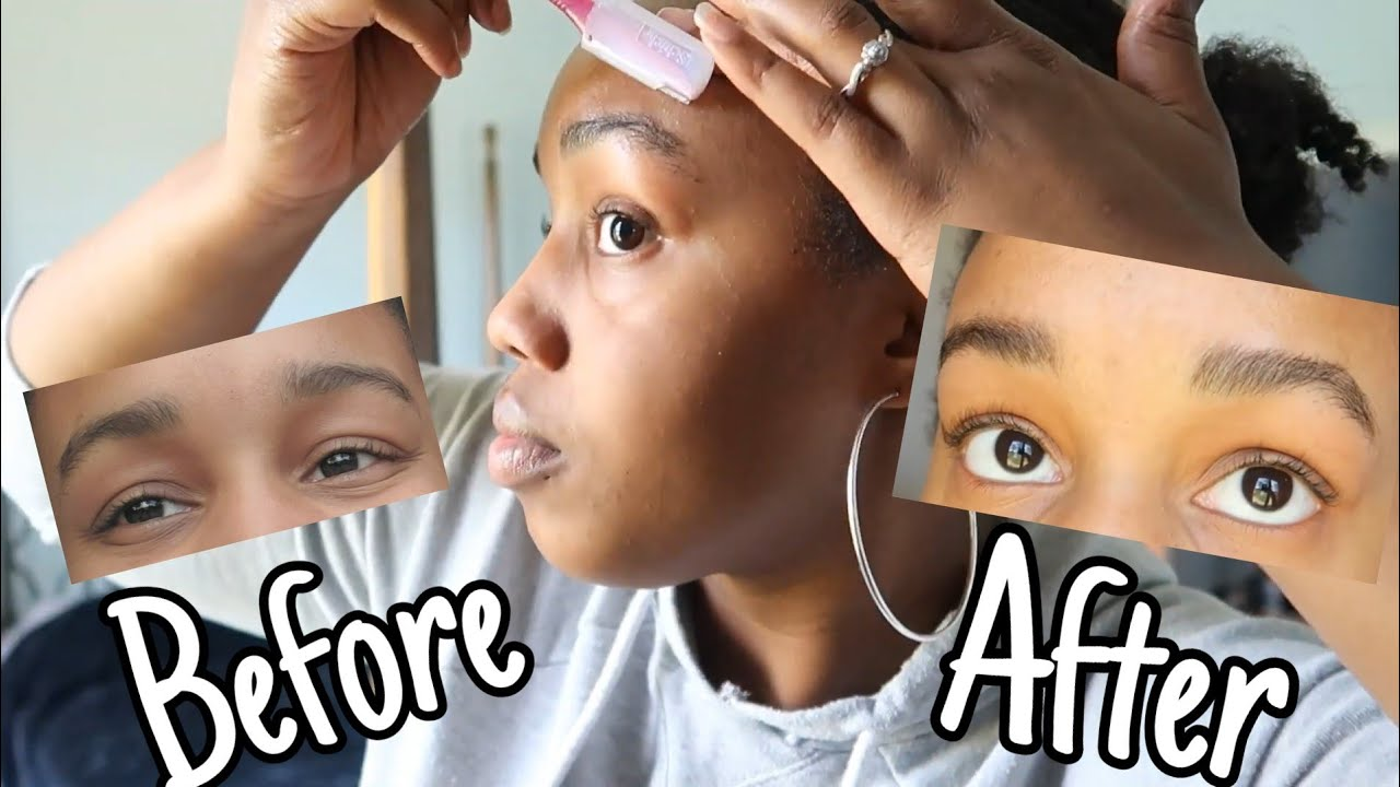Attempting to Shape and Fill My Eyebrows For The First ...