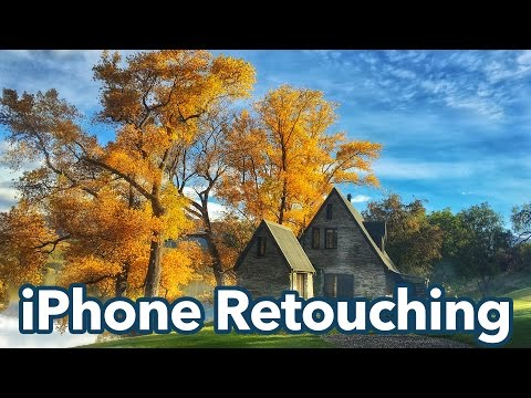 Retouching iPhone Photos like a Pro!