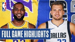 Download LAKERS at MAVERICKS | FULL GAME HIGHLIGHTS | January 10, 2020 Mp3 and Videos