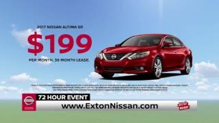 Exton nissan | 72 hour sales event ...