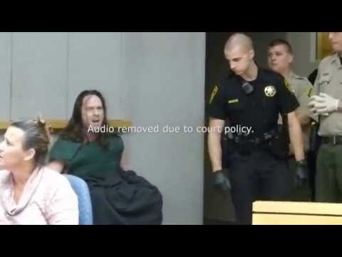 Screaming defendant curses judge during court tirade
