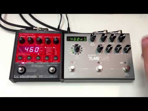 TC Electronic iB Modified Nova Delay ND-1 vs Strymon Timeline