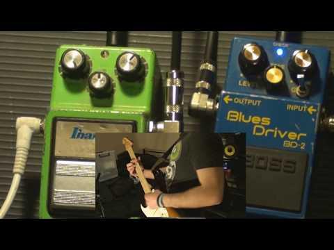 Ibanez Tubescreamer TS9 Vs Boss Blues Driver BD-2