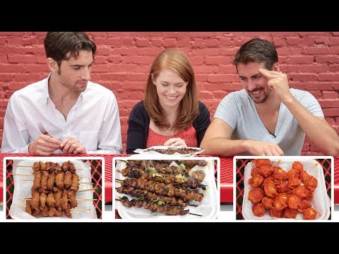 Thumbnail: Americans Try Filipino Street Food
