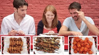 Americans Try Filipino Street Food