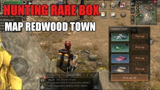 LIFE AFTER - HUNTING RARE BOX DI MAP REDWOOD TOWN