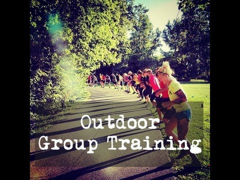 Bootcamp - Outdoor Training Ideas - YouTube