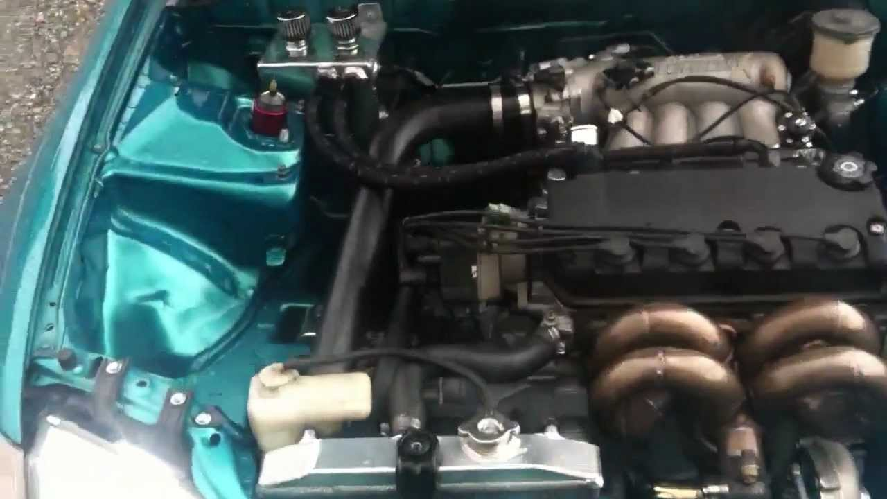 Built turbo d16z6 idling with delta 272-2 cam