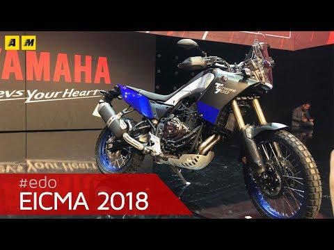 Yamaha Ténéré  a EICMA  [ENGLISH SUB]
