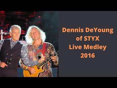 Dennis Deyoung  Music of Styx Medley 2016 Harborfest