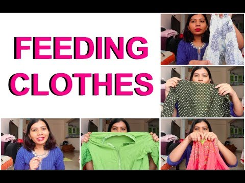 a19af381ae3 BREAST FEEDING CLOTHES INDIA - YouTube
