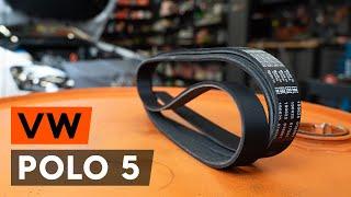 Remove Serpentine belt VW - video tutorial